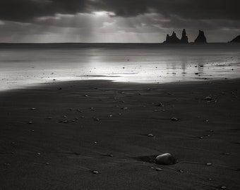 Iceland photography Storm Clouds over Vik