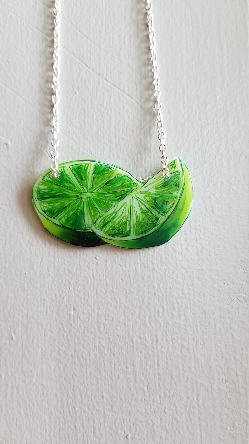 Lime Necklace