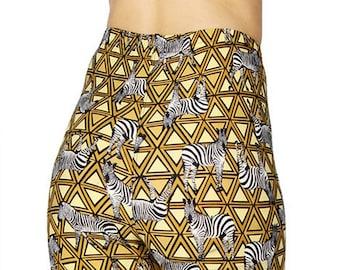 3679a57db58225 NEW MIX Soft brushed zebra print leggings