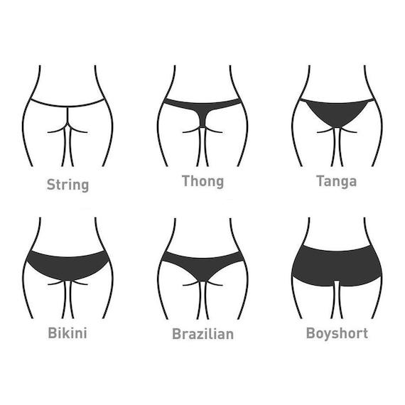 Vs tanga string string vs.