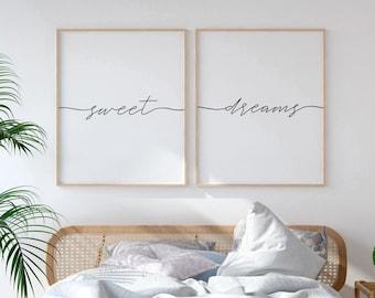 Bedroom wall art   Etsy