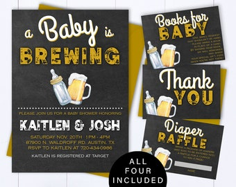 Coed baby shower etsy a baby is brewing baby shower invitation template beer baby shower invite a baby is brewing baby shower invite coed baby shower invitation filmwisefo