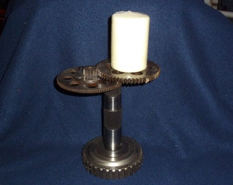 Steam Punk Candle Stand