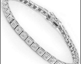 0.87 CT Diamond Designer Bracelet