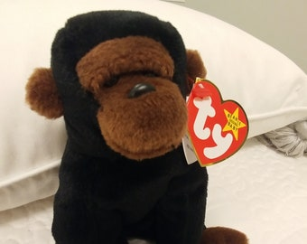 106f7603590 CONGO Ty Beanie Baby. Mint Condition with tag errors. Made in China with  PVC Pellets