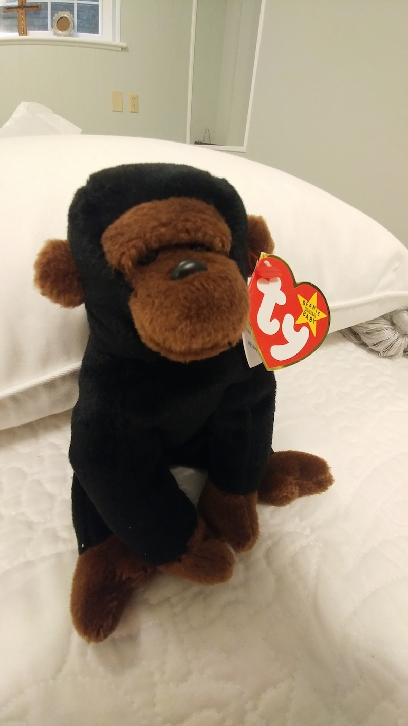 49999d80c95 CONGO Ty Beanie Baby. Mint Condition with tag errors. Made