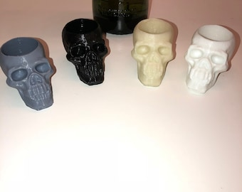 Skull shot glass.