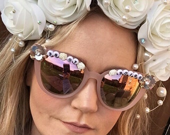 0f31ba74eb4 Bride to be hen party cats eye sunglasses