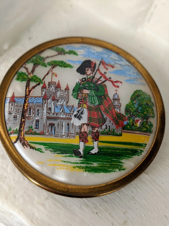 Compact Mirror Scottish Dancer Compact Mirror Sco… - image 3