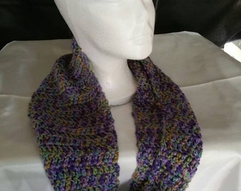 Multi-color infinity scarf