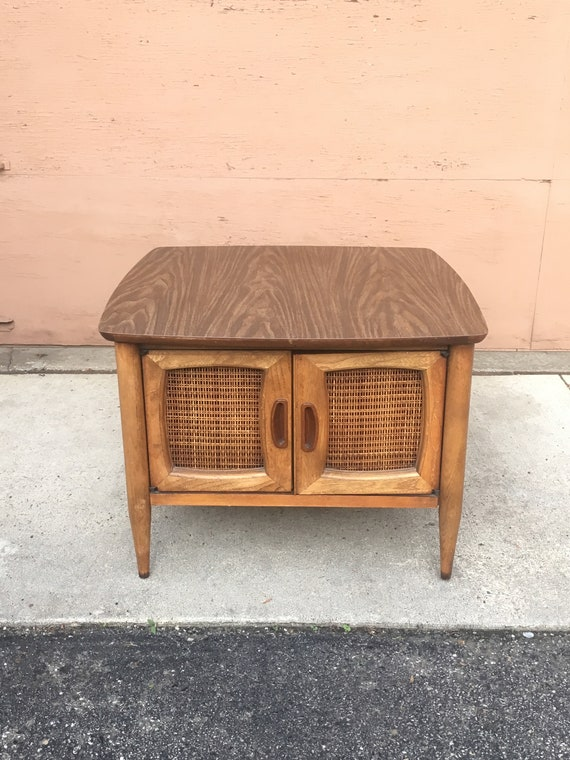 Lane Mid Century Modern End Table Etsy