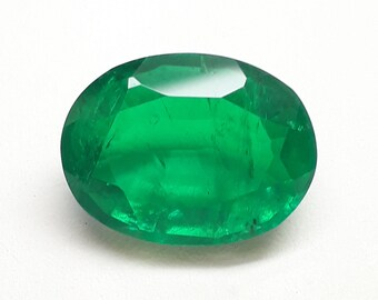 Mind Blowing Top Grade 100/% Natural Green Emerald Doublet Quartz Hexagon Shape Cabochon Gemstone For Making Jewelry 36.5 Ct 29X26X7mm M-2195