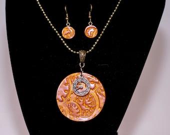 Clockwork Gold Set (Polymer Clay)