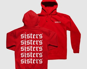 85c8bfbf2 Sisters James Charles Red Hoodie