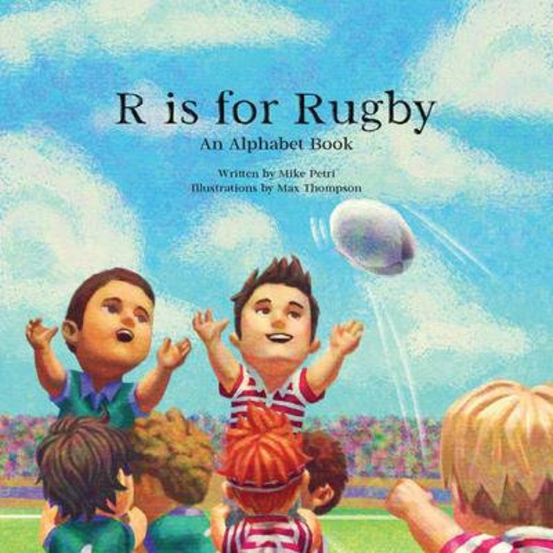 R is for Rugby: An Alphabet Book image 0
