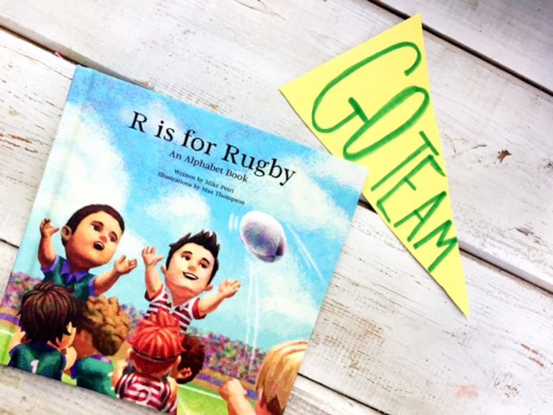 R is for Rugby: An Alphabet Book image 1