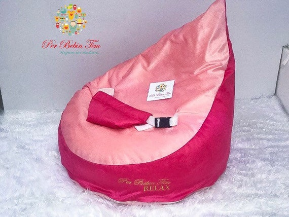 Fabulous Baby Relax Bean Bag With Safety Belt Andrewgaddart Wooden Chair Designs For Living Room Andrewgaddartcom