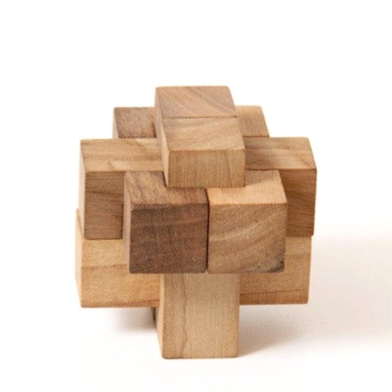 15 Piece Burr Puzzle Solution