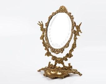 Vanity Mirror On Stand Etsy