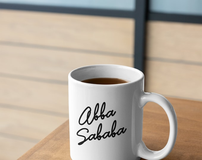 Abba Sababa - Jewish Dad Mug