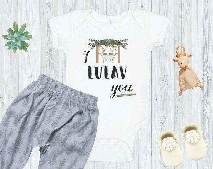 I Lulav You - Sukkot Baby Bodysuit
