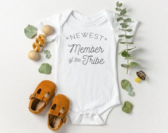 Newest Member of the Tribe - Jewish Baby Bodysuit