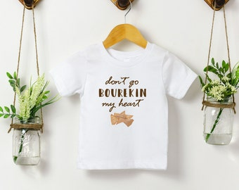 Don't Go Bourekin My Heart - Jewish Kids Tee