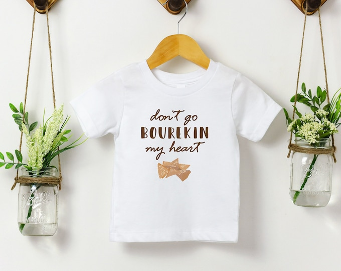 Don't Go Bourekin My Heart - Jewish Kids Tee