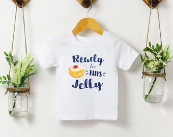 Ready for This Jelly - Kids Hanukkah Sufganiyot Tee