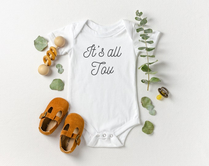 It's All Tov - Jewish Baby Bodysuit
