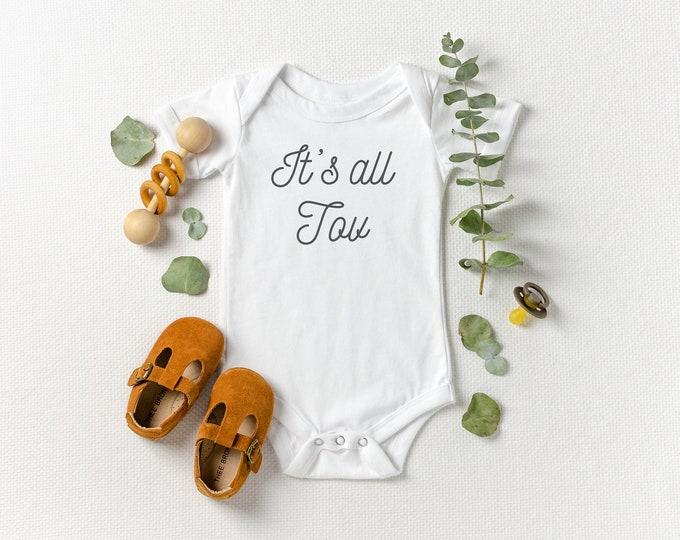 It's All Tov - Jewish Baby Bodysuit