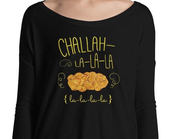Challah Fa la la Holiday Hanukkah Shirt, Jewish Christmas Shirt, Merry Hanukkah, Chrismukkah, Happy Jewish Christmas, Chanukah, Interfaith