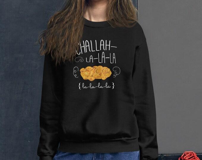 Challah la la la Holiday Hanukkah Sweater