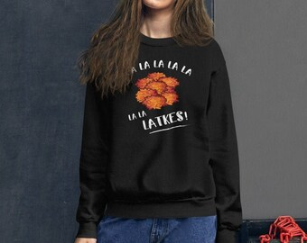LATKES Hanukkah Sweater/Sweatshirt