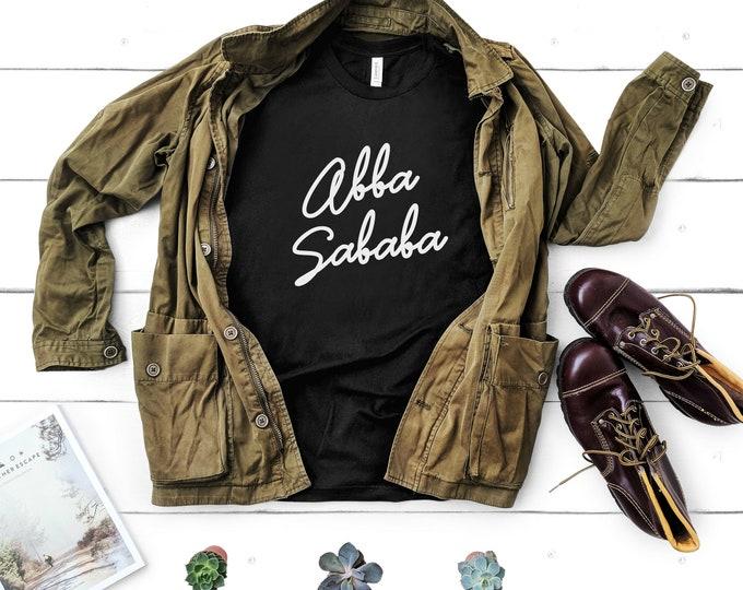 Abba Sababa - Jewish Dad Shirt