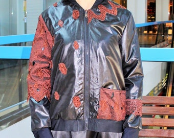Jacket Bomber  Brown Rose