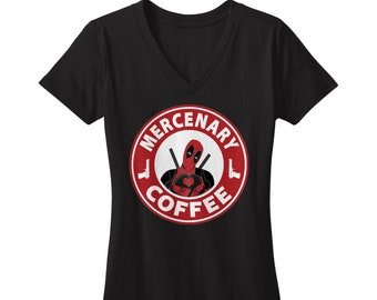 Mercenary Coffee V-Neck