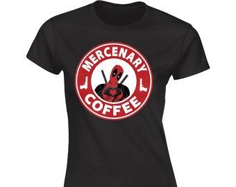 Mercenary Coffee Boyfriend T-Shirt