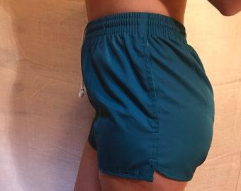 Teal Woolrich Gym Shorts