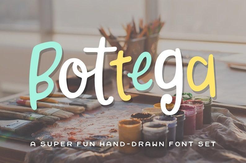 Bottega Font Set