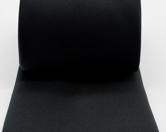 f7e409c6c426f Masonic Black Woven Tie with Square Compass and G