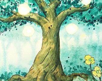 Fantasy Tree Digital Download