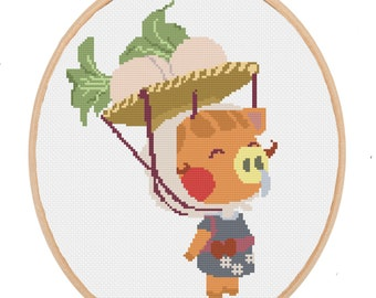 Daisy Mae Cross Stitch PATTERN ONLY Inspired by Nintendo's Animal Crossing New Horizons