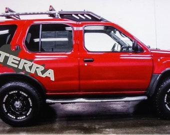 Lifted Nissan Xterra >> Nissan decals | Etsy