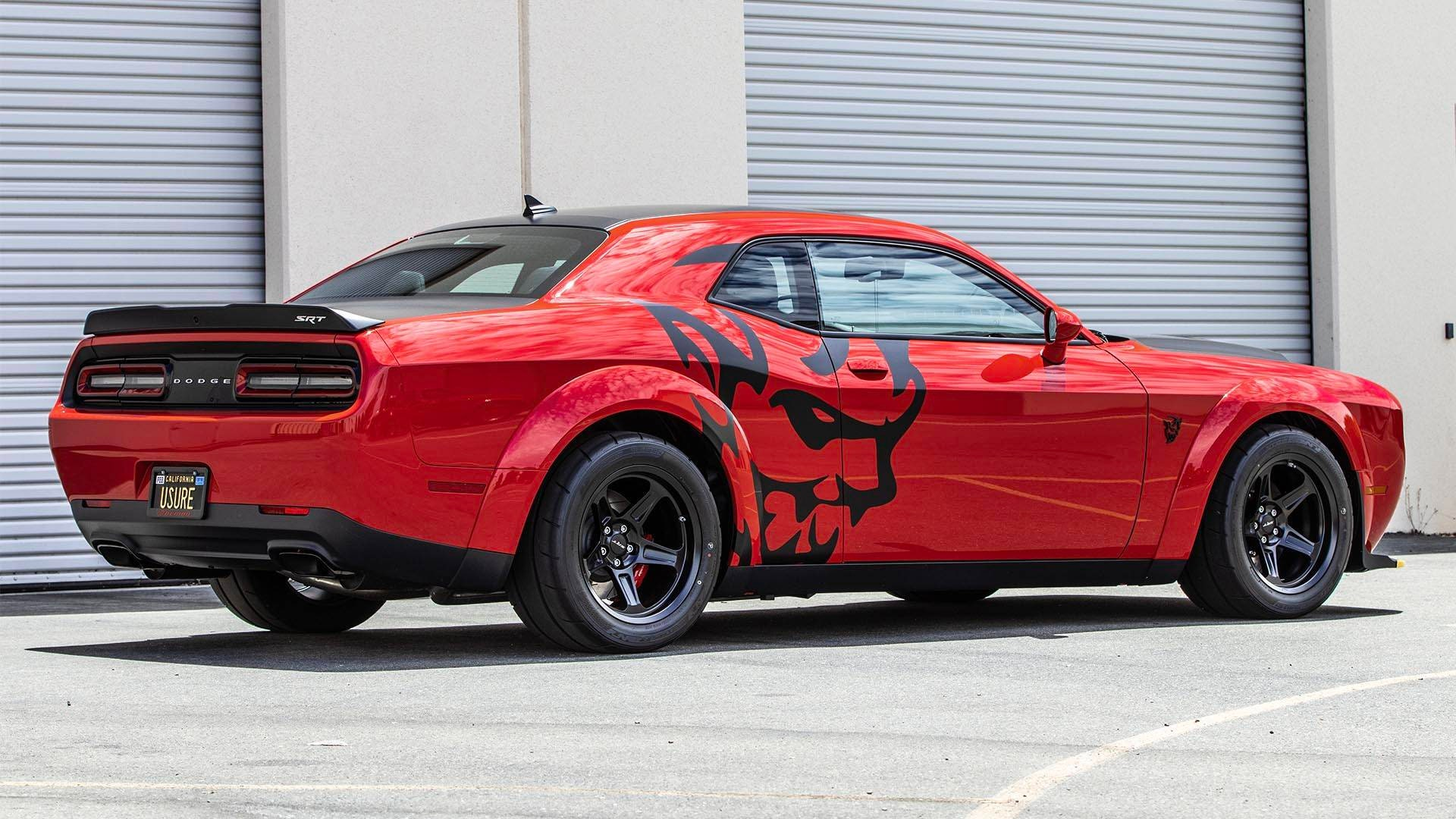 Dodge Demon Colors >> Dodge Demon Laege Side Demon Head Decal Set Kit Many Colors Available