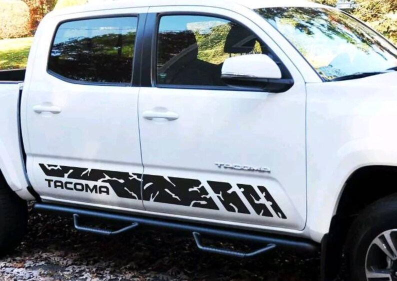 Toyota Tacoma lower stripe decal  kit.