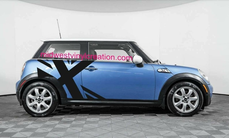 Mini Cooper Models >> Mini Cooper Side Flag Decal Kit For All Models And All Colors