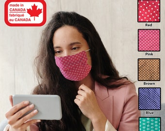 Breathable 100% Cotton Face Mask / Washable / Reusable / Free Shipping /Toronto. Canada