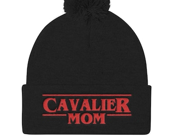 Cavalier King Charles Spaniel embroidered Knitted Beanie f4147b223d03
