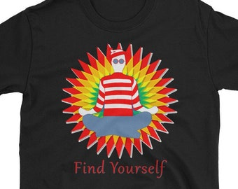 ee0a827db8 Where's Waldo - Find Yourself T-Shirt